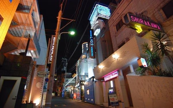 上野のラブホ街